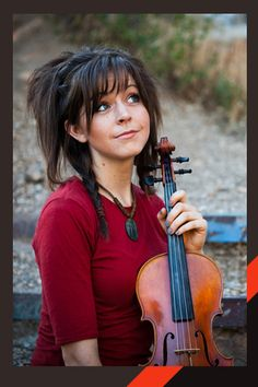 Lindsey Stirling --- a very talented and amazing violinist (check out her videos on YouTube!)