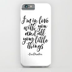 iPhone & iPod Case featuring ONE DIRECTION QUOTE,Love Sign,Gift For H… by Printable Aleks