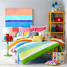 9 by Novogratz Rainbow Wrap Duvet Set - Walmart.com