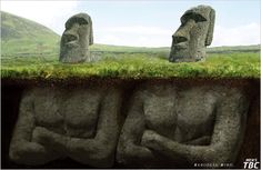 The mistery of the Easter Island has been solved!