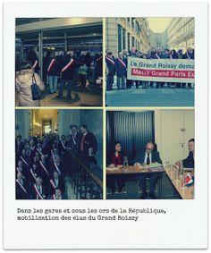Association du Grand Roissy : mobilisation des élus. RP : Manifeste