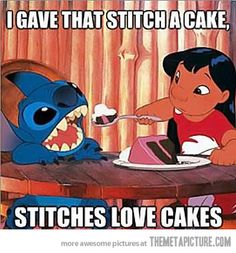 Stitches love it