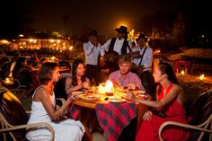 Dine under the canopy of #stars & #relish the #exquisitie #Goan #flavours with the roaring #sea #breeze.