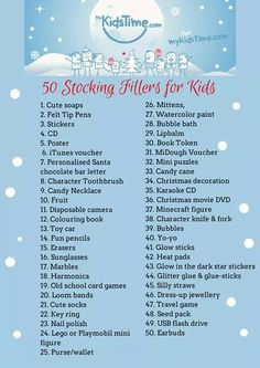 Looking for Christmas stocking filler ideas for the kids? From lipbalm to Lego, here's our 50 Stocking Stuffer Ideas for Kids. Looking for Christmas stocking filler ideas for the kids? From lipbalm to Lego, here's our 50 Stocking Stuffer Ideas for Kids. Stocking Fillers For Kids, Stocking Stuffers For Kids, Christmas Stocking Fillers, Diy Christmas Gifts, Family Christmas, Winter Christmas, Christmas Holidays, Christmas Decorations, Stocking Ideas