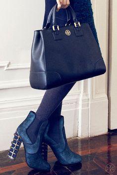 Tory Burch Fall 2013 classic bag.