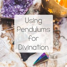 Ever wonder how to choose a pendulum or use one? All that and more answered on this week's blog post!