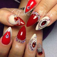 Amazing Jeweled nails