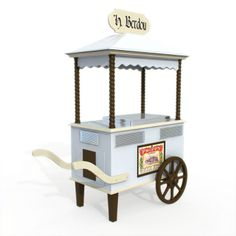 3D Model of ice cream cart 03 19