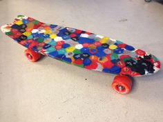 Plastic Whale skateboard