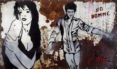 Poète et plasticienne, née le 20 février 1956 à Montmartre, ses célèbres pochoirs ornent depuis quel...