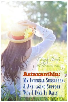 Astaxanthin: My Sun Protection Supplement amp; Why I Take It Daily. All Natural Skin Care, Organic Skin Care, Natural Health, Natural Vitamins, Health And Wellness, Health And Beauty, Health Fitness, Anti Aging, Good Sunscreen For Face