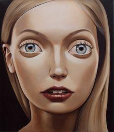 PETER STICHBURY - Glister, 2000 Acrylic on linen