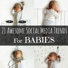 Here are some of the funnest pictures and trends we have found from some truly creative parents. Social Media Trends, Baby Birth, Duchess Of Cambridge, Family Life, Clever, Parents, 21st, Photoshop