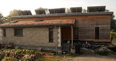 Old Lemonade Factory - self build by Nigel Kitchener of PAAD Architects - Code 6 Sustainable home. A highly efficient Zero Carbon home. #Frome #sustainable #PAADarchitects