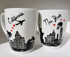 Long Distance Relationship Valentine's Day by Meanmuggin39cups, $39.95