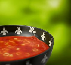 Tomato soup - use non-GMO, fully ripe tomatoes, grown in full sun. Add salt, browned flour, some soup pasta and chopped parsley at the end of cooking. (or chopped dill, celery,peas or anything you find in fridge)
