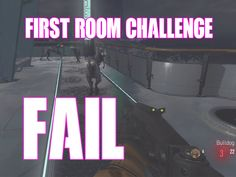 WORST First Room Challenge DESCENT EXO ZOMBIES Call of Duty Advanced War...