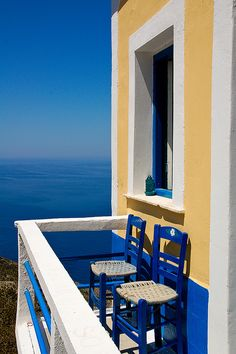 Breathtaking view from Olympos village on the island of Karpathos, in the Dodecanese #kitsakis