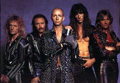 Judas Priest. A bad ass metal band with a gay singer. It cannot get anymore awesome than that.