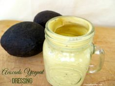 Avocado Yogurt Dressing Recipe-Great as part of Dr. Oz' 2 Week Diet Plan!
