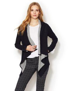 Alexis Wrap Sweater