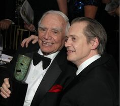Ernest Borgnine and Steve Buscemi