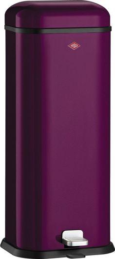 Mülleimer SUPERBOY lila WESCO 132312-36 (BHT 30x71x27 cm)