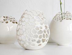 Ceramic volcano style