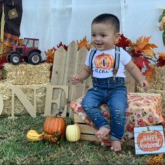 Pumpkin Birthday Outfit Boys Halloween Fall Pumpkin Birthday Shirt Baby Boy Birthday Outfit Personalized Smash Cake Outfit ANY AGE First Birthday Outfits Boy, Boys First Birthday Party Ideas, Fall Birthday Parties, 1st Birthday Pictures, Birthday Themes For Boys, Baby Boy First Birthday, Birthday Boy Shirts, Halloween 1st Birthdays, Halloween First Birthday