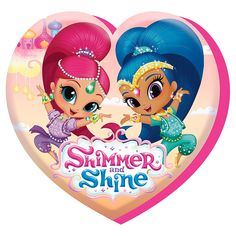 GBP - Shimmer And Shine Heart Shaped Velour Soft Cushion Pillow Official & Garden Shimmer And Shine Characters, Birthday Party At Park, 4th Birthday, Birthday Ideas, Birthday Cake, Birthday Parties, Shimmer Y Shine, Girl Birthday Decorations, Star Wars Shop