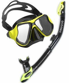 Oceanic Ultradry Snorkel and Aeris Duo Scuba Diving Mask Snorkel Set - http://scuba.megainfohouse.com/oceanic-ultradry-snorkel-and-aeris-duo-scuba-diving-mask-snorkel-set.html/