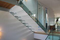 Eestairs. acrylic tread stairs.  Facebook.com/designwolfCA