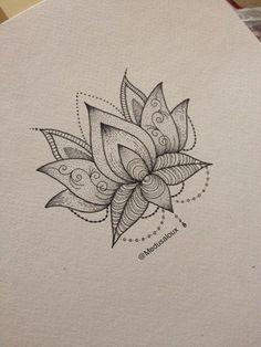 Lotus Flower tattoo by Medusa Lou Tattoo Artist