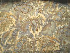 Vintage 1977 Liberty Cotton Interiors Fabric Panel 'Barnabus' Ferns & Leaves | eBay