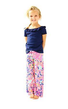 0141460edc4 Girls Little Beach Pant Beach Cover Ups