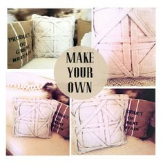 TUTORIAL: Awesome pillows