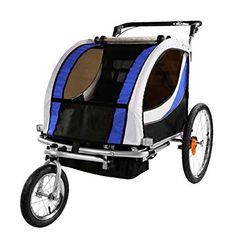 Clevr Red Collapsible 2 Seats Double Bicycle Trailer Baby Bike Jogger/Stroller Jogging Running Kids Cart Bike Baby Jogger Stroller, Baby Strollers, Cool Bicycles, Cool Bikes, Best Kids Bike, Bike Hitch, Baby Bike, Joggers, Bike Trailers