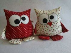 Amazing Home Sewing Crafts Ideas. Incredible Home Sewing Crafts Ideas. Owl Sewing, Sewing Toys, Sewing Crafts, Sewing Projects, Fabric Toys, Fabric Scraps, Owl Crafts, Kids Crafts, Felt Owls