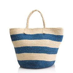 J.Crew - Bamboula Ltd. for J.Crew market tote. For nearly 30 years, this Pennsylvania-based company has been importing beautifully handcrafted products from Africa using fair-trade practices that directly benefit the artisans. #fairtrade #ethicalfashion