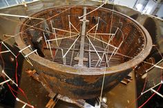 Story, time-lapse video and photo gallery on the USS Monitor turret conservation program. http://bit.ly/1gmsyQY -- Mark St. John Erickson