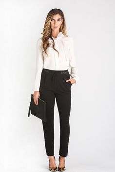 Cute Blouses for Women – Morning Lavender, work outfit ideas, chic, business work ideas, bow blouse
