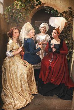 Photo: Anastasya Vorona Medieval Costume, Medieval Dress, Medieval Fashion, Medieval Clothing, Medieval Hats, Historical Costume, Historical Clothing, Middle Ages Clothing, Medieval World