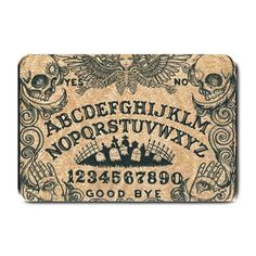 Ouija Board Placemat by Stuff of the Dead