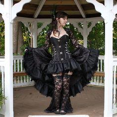 Imperial Belladonna  Custom Made Steampunk Costume by auralynne, $349.00