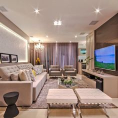 "3,406 curtidas, 33 comentários - MarianeBaptistaMarildaBaptista (@arqmbaptista) no Instagram: ""Boaaaa noiteee!! Outro ângulo dessa sala lindaaa ✨✨ #boanoite #interiores #decor #detalhes…"""