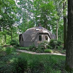 What's it like living in a geodesic dome?