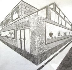 Art At Woodstock: Drawing and Painting: 2-Point Perspective