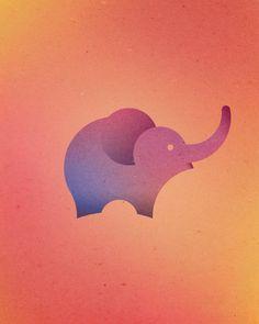 La graphic designer Dorota Pankowska, aka Dori, a imaginé cette jolie série de GIFs animés colorés de 13 animaux dessinés en combinant 13 cercles parfait