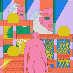 Reza Hasni's illustrations are not limited by the constraints of the physical world