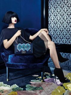 Lindsey Wixson by Emma Summerton for Neiman Marcus September 2015.